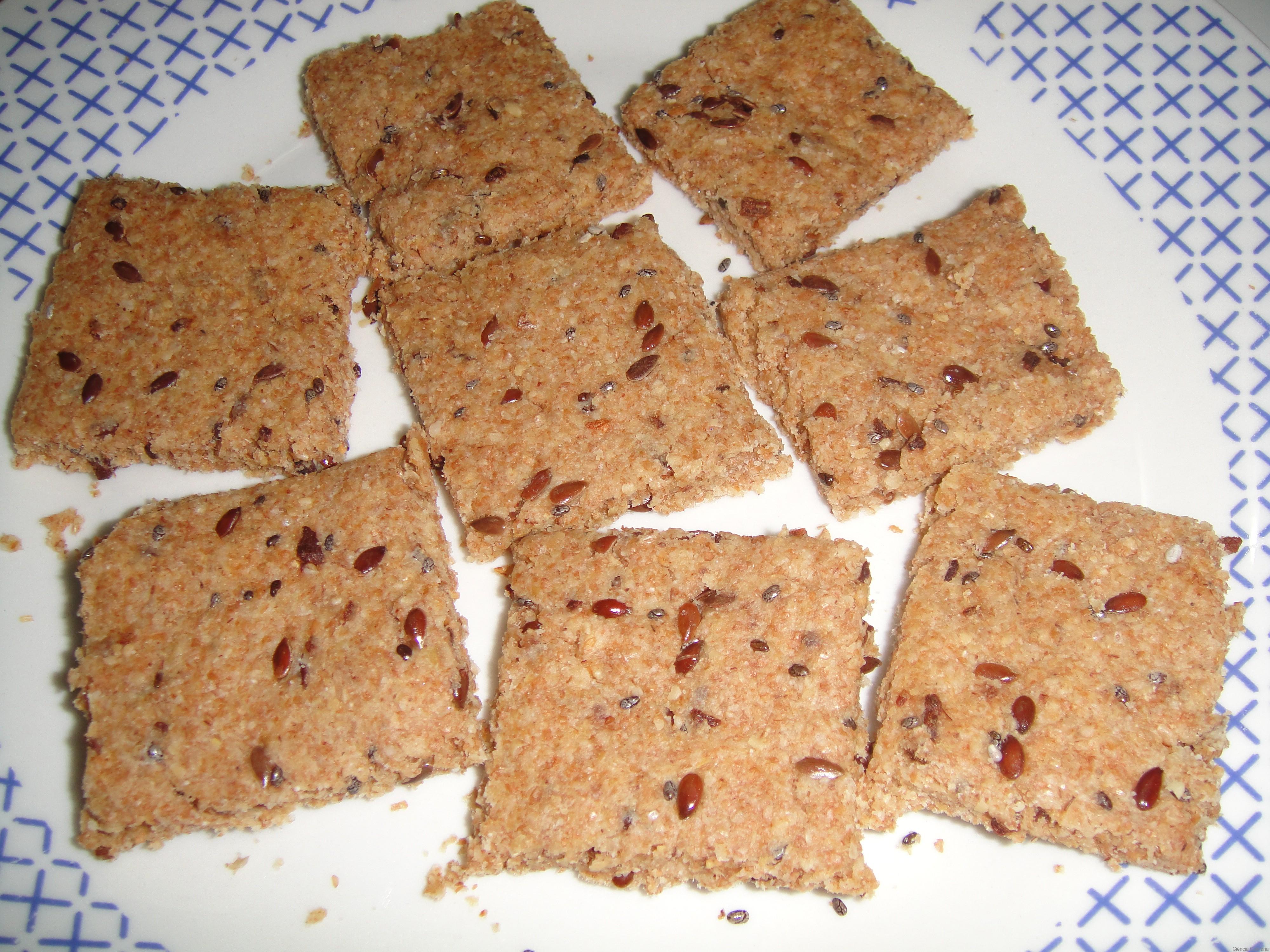 Amado Biscoito Salgado Integral | Ciência Culinária EY94